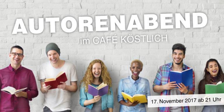 Autorenabend im Café Köstlich